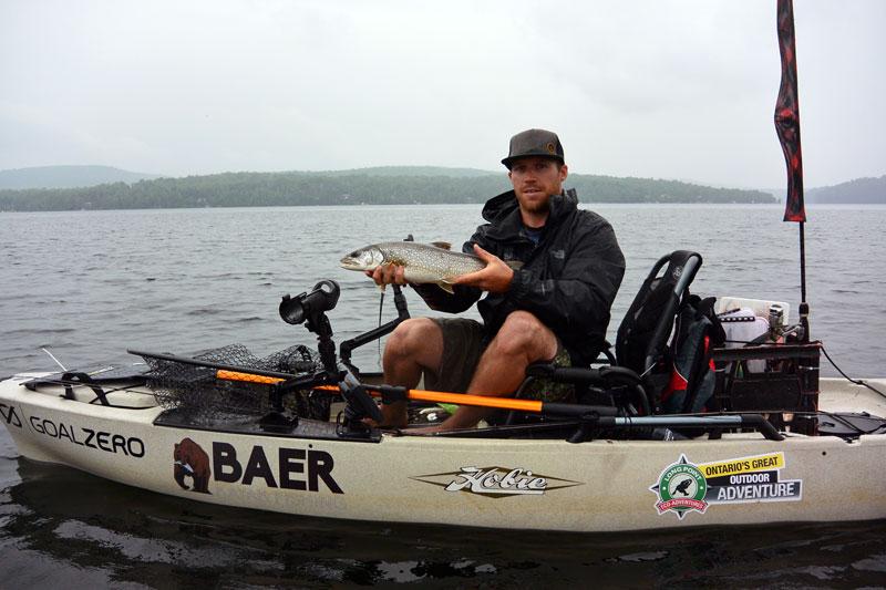2013 hobie pro angler 12 fishing kayak fogh marine for Fishing kayak with livewell